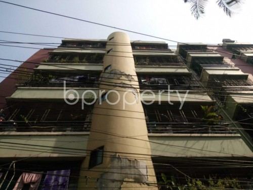 Front view - 2 Bed Apartment to Rent in Shantinagar, Dhaka - 1860471