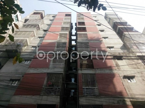 Front view - 3 Bed Apartment for Sale in Motijheel, Dhaka - 1860474