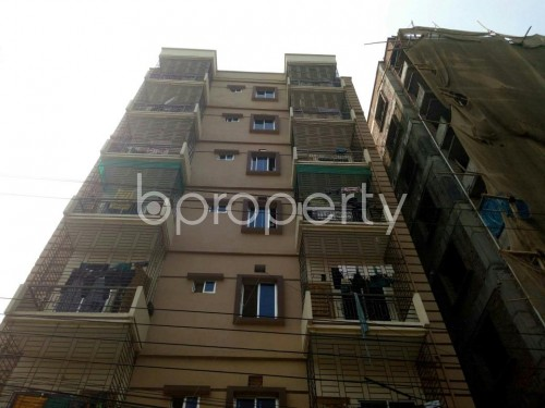 Front view - 3 Bed Apartment for Sale in Aftab Nagar, Dhaka - 1860621