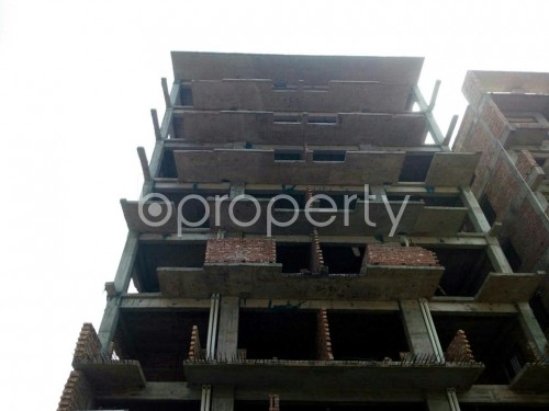 Front view - 3 Bed Apartment for Sale in Aftab Nagar, Dhaka - 1860651