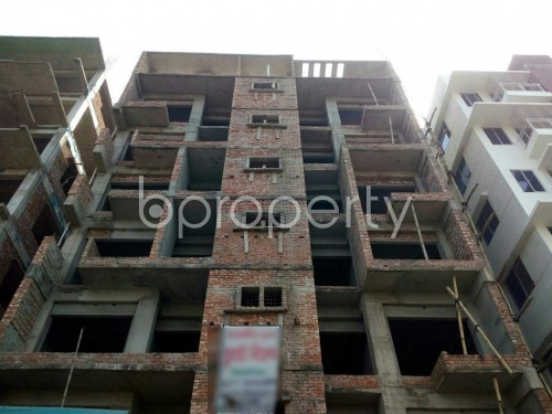 Front view - 3 Bed Apartment for Sale in Aftab Nagar, Dhaka - 1860662