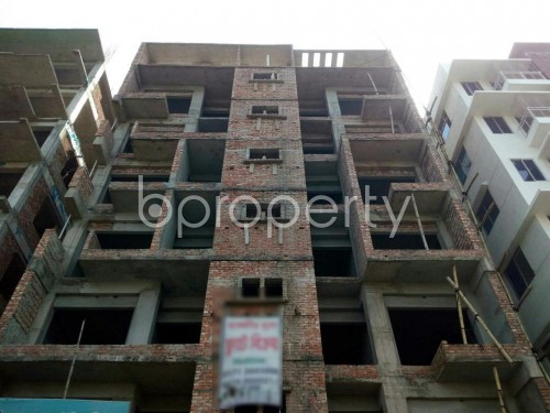 Front view - 3 Bed Apartment for Sale in Aftab Nagar, Dhaka - 1860663