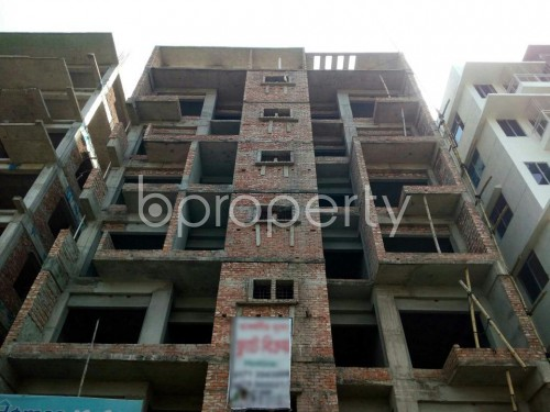 Front view - 3 Bed Apartment for Sale in Aftab Nagar, Dhaka - 1860661