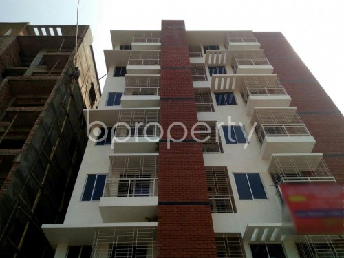 Front view - 3 Bed Apartment for Sale in Aftab Nagar, Dhaka - 1860679