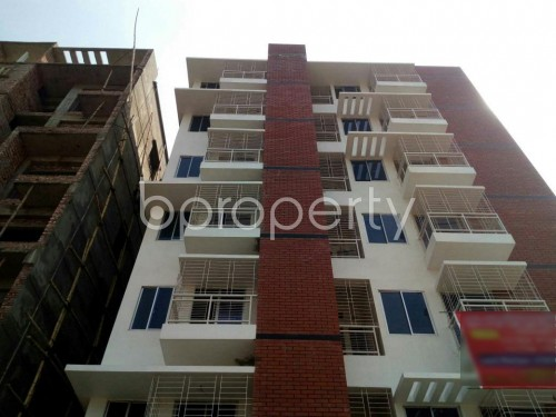 Front view - 3 Bed Apartment for Sale in Aftab Nagar, Dhaka - 1860680