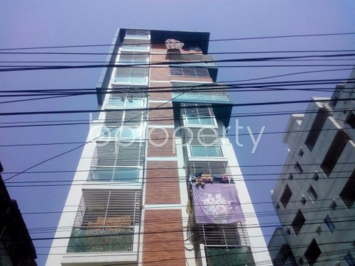 Front view - 3 Bed Apartment to Rent in Malibagh, Dhaka - 1861469