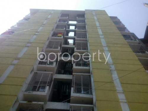 Front view - 3 Bed Apartment to Rent in Malibagh, Dhaka - 1861478