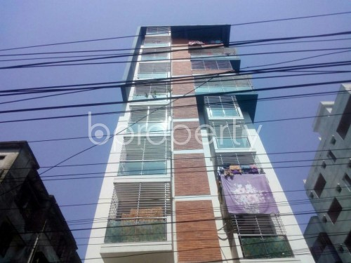 Front view - 3 Bed Apartment to Rent in Malibagh, Dhaka - 1861487