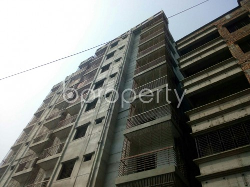 Outside view - 3 Bed Apartment for Sale in Badda, Dhaka - 1863991