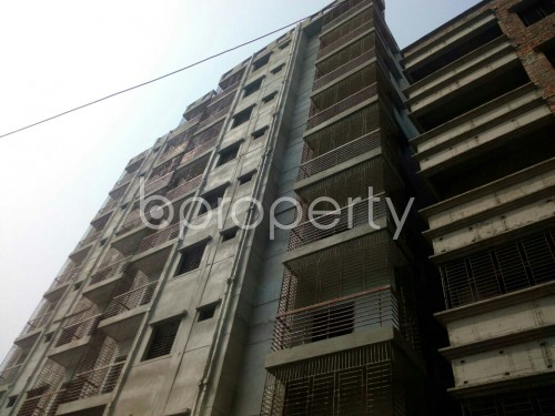 Outside view - 3 Bed Apartment for Sale in Badda, Dhaka - 1863992