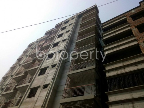 Outside view - 3 Bed Apartment for Sale in Badda, Dhaka - 1863993
