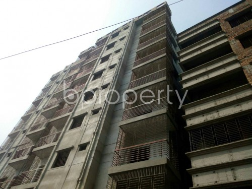 Outside view - 3 Bed Apartment for Sale in Badda, Dhaka - 1863994