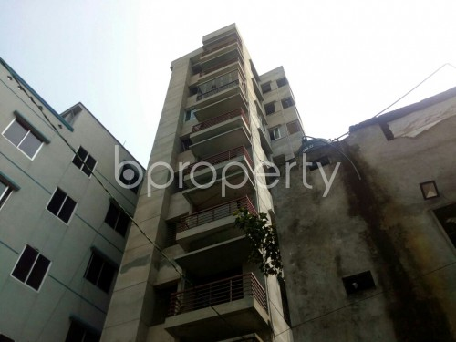 Outside view - 3 Bed Apartment for Sale in Badda, Dhaka - 1864672