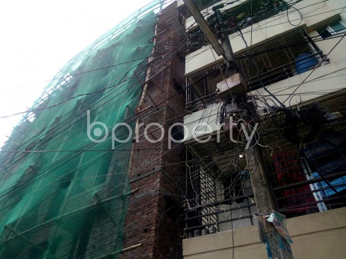 Outside view - 3 Bed Apartment for Sale in Badda, Dhaka - 1864724