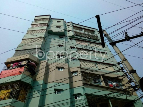 Front view - 2 Bed Apartment for Sale in Badda, Dhaka - 1865739