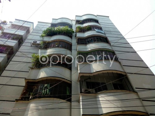 Front view - 3 Bed Apartment for Sale in Badda, Dhaka - 1865759