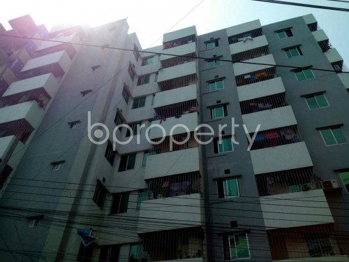 Front view - 3 Bed Apartment for Sale in 9 No. North Pahartali Ward, Chattogram - 1865840