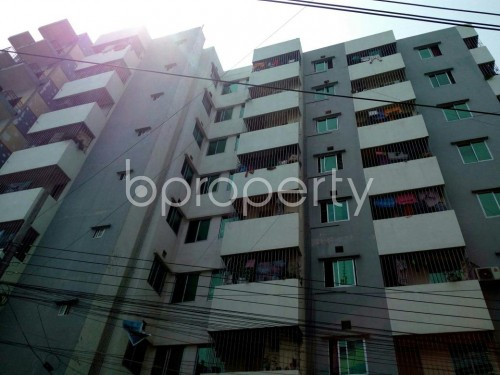 Front view - 3 Bed Apartment for Sale in 9 No. North Pahartali Ward, Chattogram - 1865841