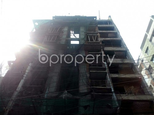 Front view - 3 Bed Apartment for Sale in Badda, Dhaka - 1867088