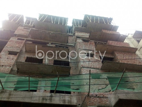 Front view - 3 Bed Apartment for Sale in Badda, Dhaka - 1867103