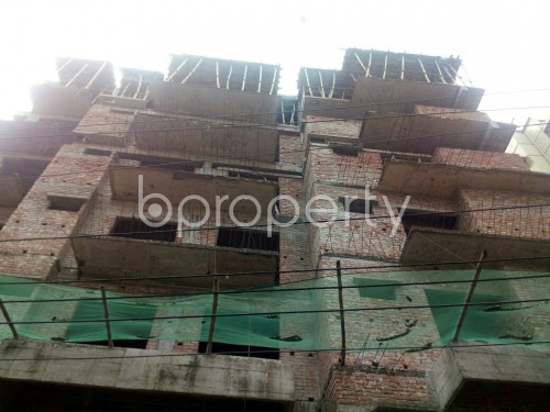 Front view - 3 Bed Apartment for Sale in Badda, Dhaka - 1867101