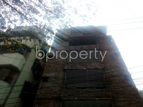Front view - 3 Bed Apartment for Sale in Badda, Dhaka - 1867123
