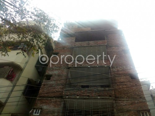 Front view - 3 Bed Apartment for Sale in Badda, Dhaka - 1867121