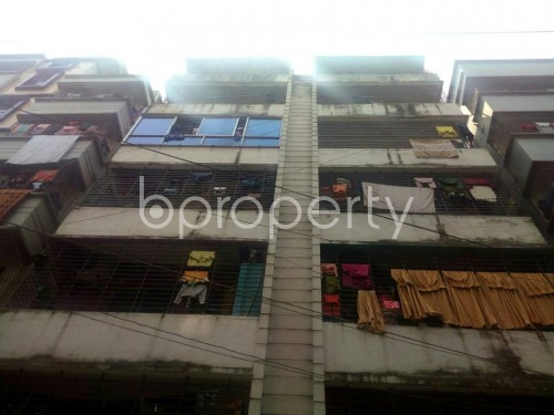 Front view - 2 Bed Apartment for Sale in Badda, Dhaka - 1867134