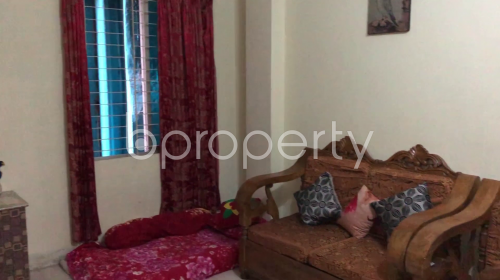 Dining area - 3 Bed Apartment for Sale in Mirpur, Dhaka - 1863871