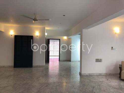 Dining area - 3 Bed Apartment to Rent in Gulshan, Dhaka - 1901240