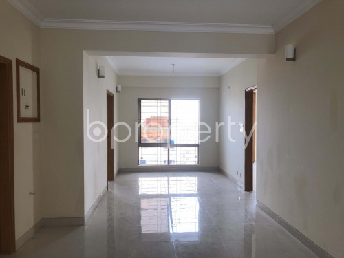 Dining area - 3 Bed Apartment to Rent in Bashundhara R-A, Dhaka - 1938831