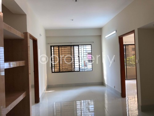 Dining area - 3 Bed Apartment to Rent in Bashundhara R-A, Dhaka - 1940817