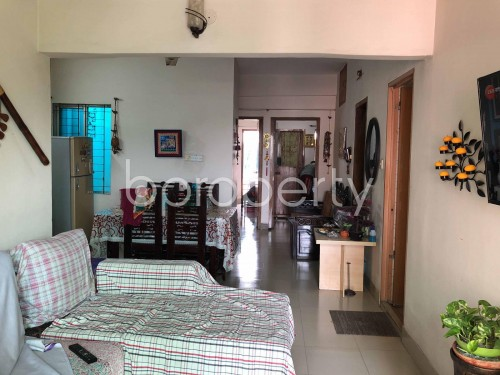 Dining area - 3 Bed Apartment for Sale in Badda, Dhaka - 1940570
