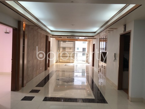 Dining area - 4 Bed Apartment to Rent in Bashundhara R-A, Dhaka - 1952075