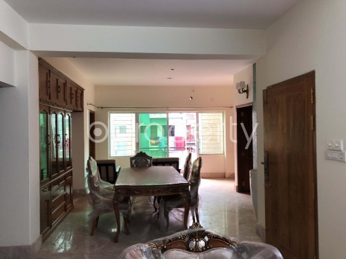 Dining area - 4 Bed Apartment to Rent in Bashundhara R-A, Dhaka - 1952633