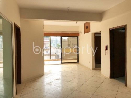 Dining area - 3 Bed Apartment for Sale in Niketan, Dhaka - 1951000