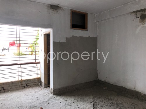 Bedroom - 2 Bed Apartment for Sale in Badda, Dhaka - 1981126