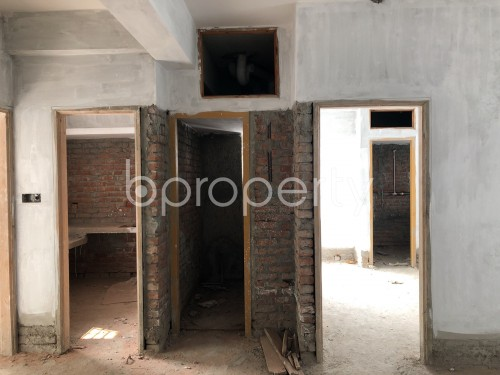 Dining area - 2 Bed Apartment for Sale in Badda, Dhaka - 1981125
